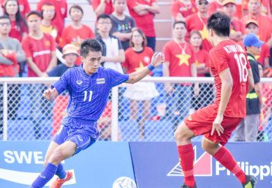 ซีเกมส์ 2019 ทีมไทยตกรอบ แบ่งแต้มเวียดนาม